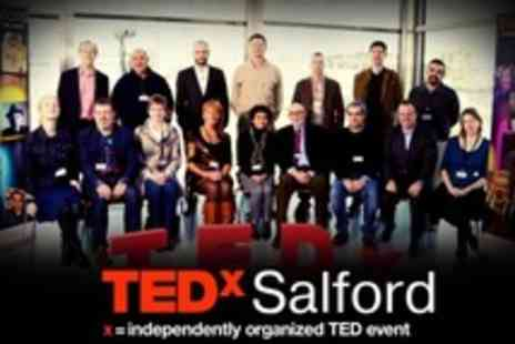 TEDxSalford -  Full Day Technology Entertainment and Design Conference Ticket For One - Save 58%