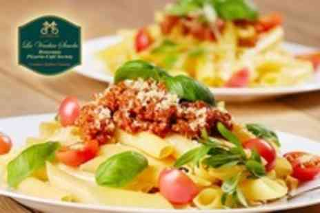 La Vecchia Scuola - Pizza or Pasta Meal For Two - Save 56%