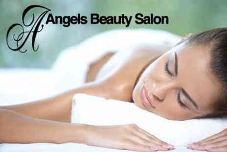 Angels Beauty Salon - Spa Pamper Package For One With Four Treatments and Glass of Bubbly - Save 60%
