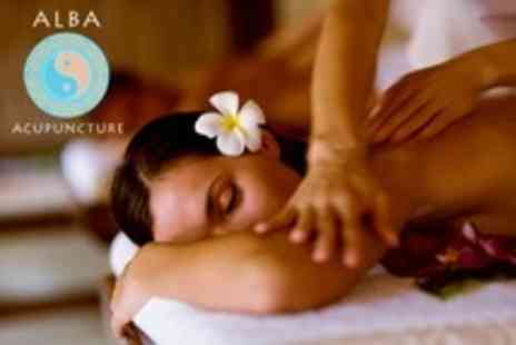 Alba Acupuncture - One Hour Massage Full Body Thai or Tui Na - Save 54%