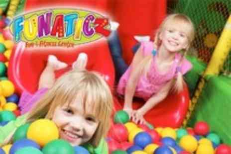 Funaticz - Soft Play Centre Entry For One Child - Save 69%