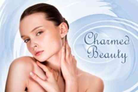 Charmed Beauty - Manicure Pedicure Facial Choice of Two - Save 50%