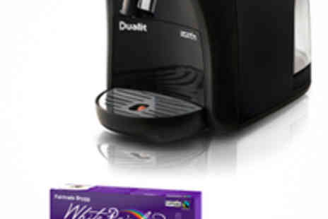 bergs Lila - Dualit Capsule Coffee Machine with 80 Capsules - Save 50%