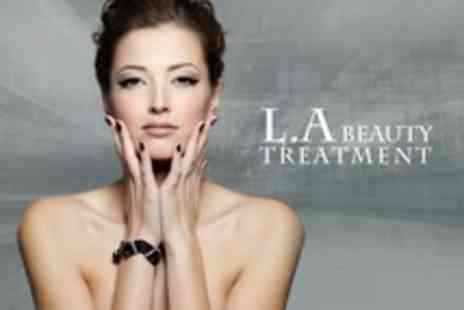 LA Beauty Treatment - Manicure With Spray Tan - Save 50%