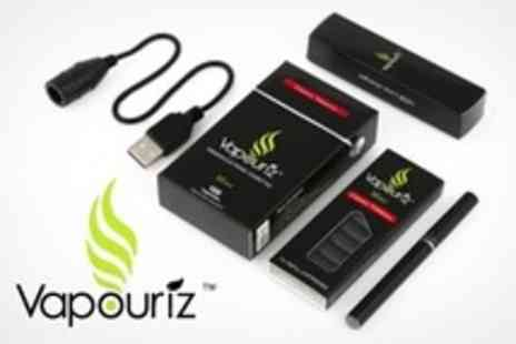 Vapouriz - Tobacco or Menthol With 60 Refill Cartridges - Save 69%