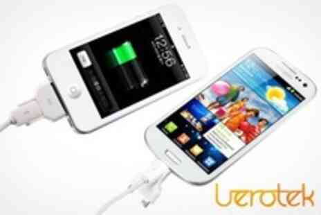 Uerotek - 2 in 1 Cable With iPhone and Smartphone Attachments - Save 55%