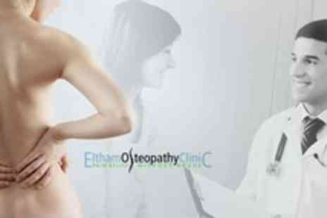 Eltham Osteopathy Clinic - Osteopathic Consultation and Myovision Spinal Exam With Massage Treatment - Save 81%