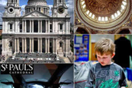 St. Pauls Cathedral - Exclusive Kids St Paul's Cathedral Explorer Tour and Mosaic Workshop - Save 56%