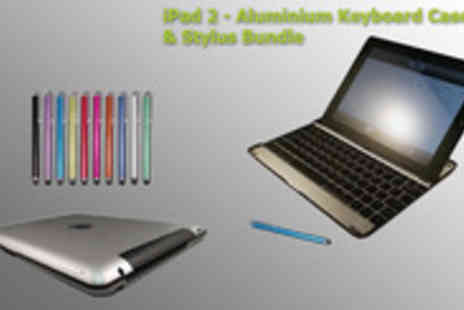 Time2 - Durable keyboard case for your iPad 2 or 3 made from lightweight aluminium material - Save 76%