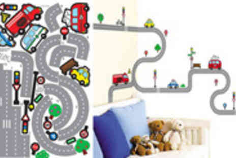 All things kidz - Four fantastic sets of room stickers perfect for giving any kids room that personal touch - Save 55%