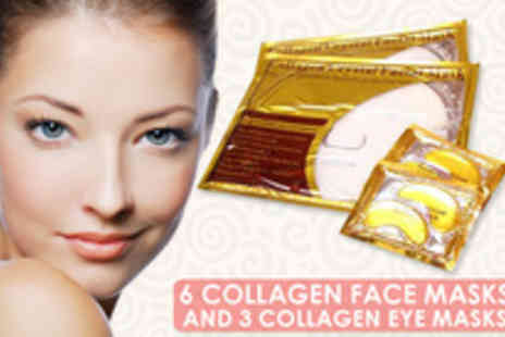 Lily Nicole - Face masks and three collagen eye masks - Save 87%