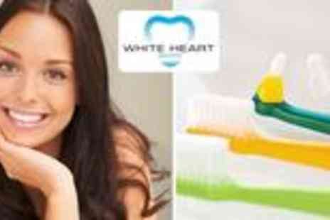 White Heart Dentistry - Dental assessment with full checkup, scale and polish with x rays - Save 87%
