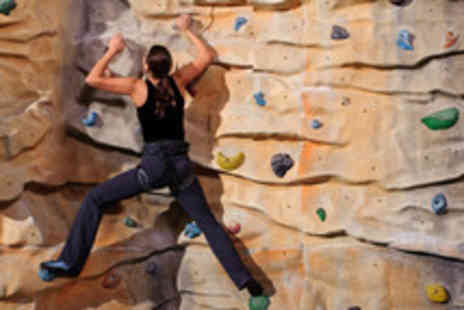 The Climbing Hangar - Full day of climbing for 2 inc. induction and annual membership - Save 70%