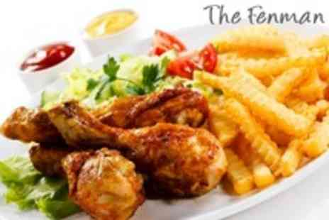 The Fenman - Two Course Meal and Side For Two - Save 52%