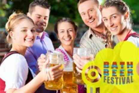 Bath Beer Festival - Bath Beer Festival at Bath Pavilion Entry For Two - Save 57%