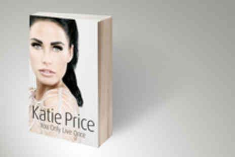 Random House - Hardback edition of Katie Prices autobiography - Save 61%