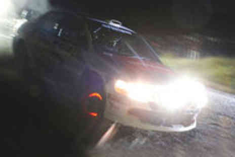 Epic Motorsport - Night time rally on a night time racing experience - Save 50%