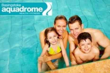 Basingstoke Aquadrome - Leisure Pool Swimming - Save 74%