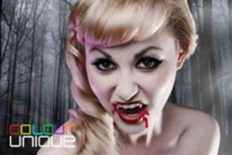 Colour Unique - Stylish Makeover or Halloween Photoshoot Fun With Print - Save 83%