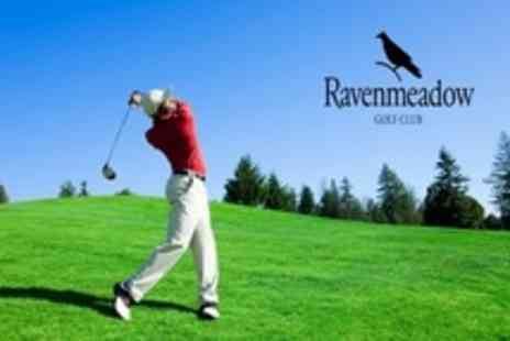 Ravenmeadow Golf Centre - 18 Holes of Golf For Two Plus 100 Range Balls and Bacon Sandwich Each - Save 67%