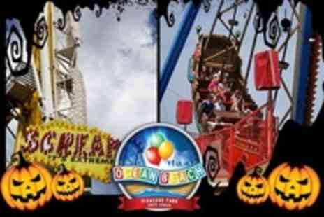 Ocean Beach Pleasure Park - Halloween Day Out With 25 Ride Tickets - Save 50%
