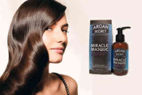 Eggsnog - Argan Miracle Hair Masque with Restores, Shine, Strength and Health - Save 55%