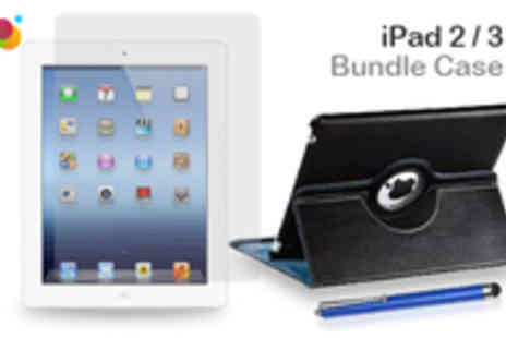 Buyitnowgifts - iPad 2 or 3 Case Bundle - Save 74%