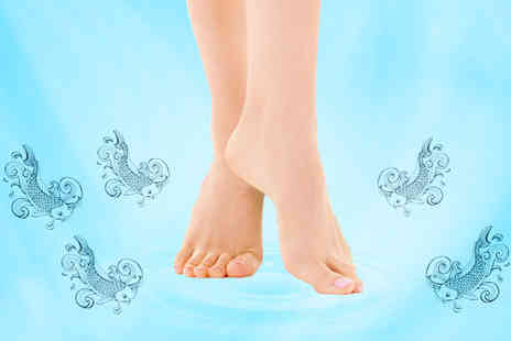 Aesthetics of London - 20 minute Garra Rufa fish pedicure - Save 77%