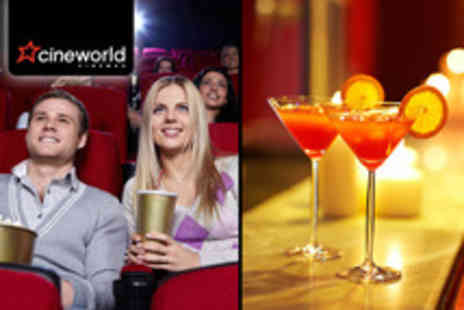 Tiger Tiger - Two Cineworld tickets plus entry for 2 a cocktail pitcher & sharing platter - Save 59%
