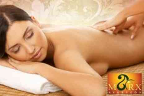 Marx Ayurveda - Ayurvedic Consultation, Full Body Herbal Oil Massage and Hot Poultice Application - Save 50%