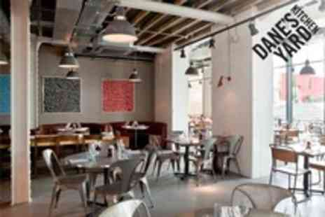 Danes Yard Kitchen - Three Courses of Modern British Cuisine For Two - Save 65%