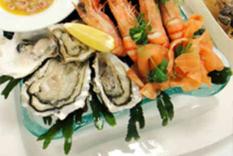 Hilton London Tower Bridge Hotel - Seafood Platter for Two with Champagne - Save 56%