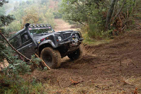 EuroTrap - Two hour 4X4 off road driving experience for two people - Save 82%