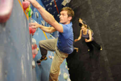 Craggy Island - Indoor Bouldering Induction with Day Pass - Save 61%