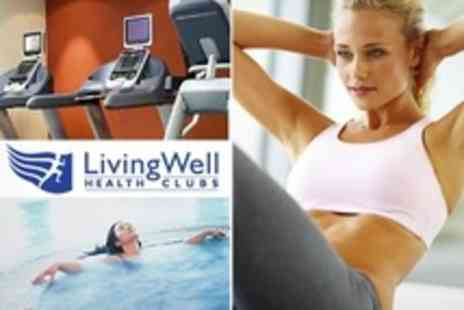 LivingWell Health Club - Ten Full Access Spa Passes For One - Save 72%