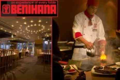 Benihana - Teppanyaki Prawn and Chicken Benihana Delight Dining Experience For Two - Save 50%