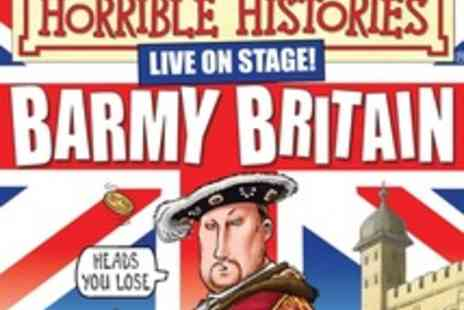 Nimax Theatres - Horrible Histories Barmy Britain Premium Tickets in the West End - Save 50%