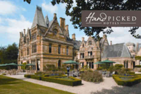 Ettington Park Hotel - Four star Gothic mansion with gourmet dining and indoor pool breakfast included - Save 25%