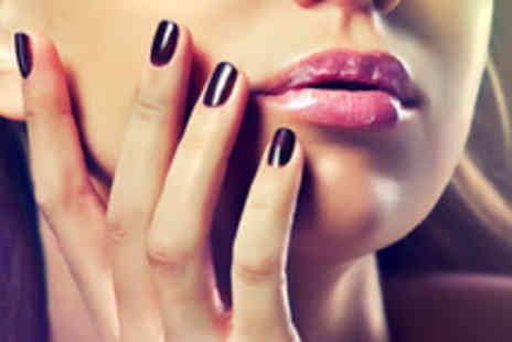 Enzo Beauty - Shellac manicure inc file, shape, buff, cuticle work, mask and massage - Save 63%