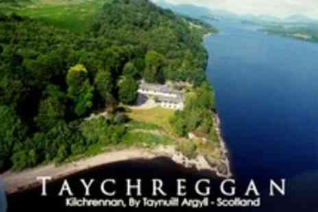Taychreggan Hotel - One Night Stay For Two in Loch View Suite With Breakfast - Save 57%