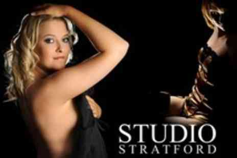 Studio Stratford - Boudoir Photoshoot With Makeover and Prints - Save 96%