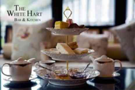 The White Hart - Afternoon Tea For Two - Save 50%