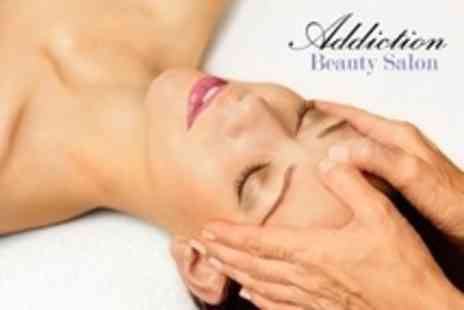 Addiction Beauty Salon - Luxury Pedicure With Choice of Massage or Facial - Save 60%
