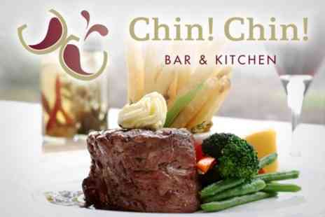 Chin Chin Bar & Kitchen - Two Course Meal For Two - Save 50%