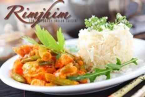 New Rimjhim Port Solent - Two Course Indian Meal For Two With Rice - Save 61%
