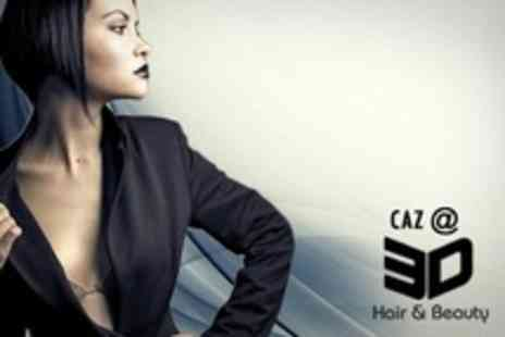 Caz 3D Hair & Beauty - Cut With Restyle and Finish - Save 55%