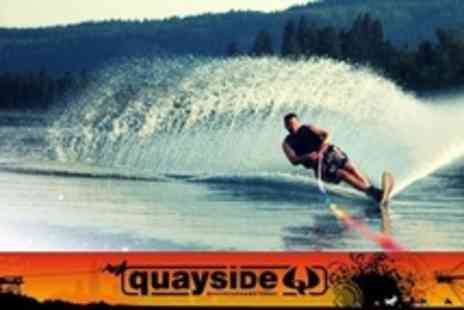 Quayside Wakeboard and Waterski - One Hours Wakeboarding or Water Skiing - Save 69%