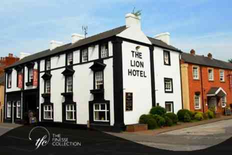 The Lion Hotel - Overnight King Room Stay For Two with Restaurant Voucher and Breakfast - Save 61%