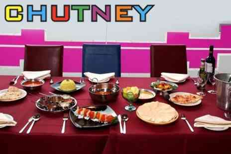 Chutney - Two Courses of Indian Cuisine For Two Plus Rice and Naan - Save 60%