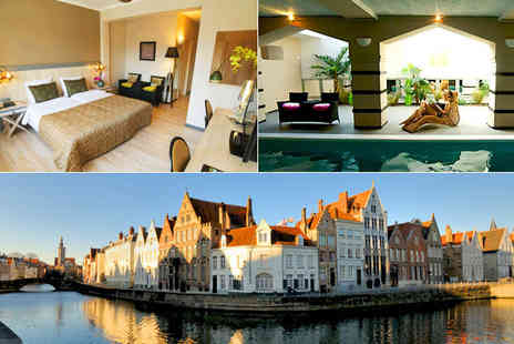Floris Hotel Bruges - Three night stay for two people on this Belgium break! - Save 54%